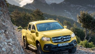 Mercedes X-Class Pickup Safety Rating Revealed