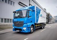 Mercedes-Benz e-Actros starts tests