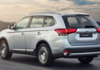 Mitsubishi Outlander 7-seat CKD Debuts at RM139,988 only