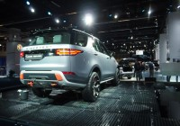 Land Rover Discovery SVX for any terrain