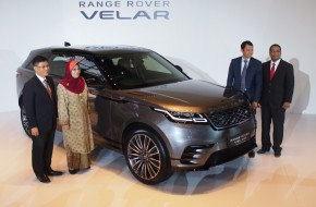Range Rover Velar in Malaysia at RM529k