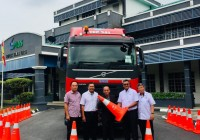 PLUS, the highway authority just gave away RM10k worth of Safety Cones to Haulage Associations
