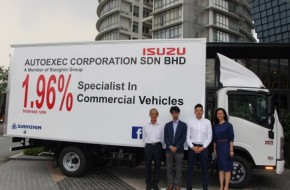 New Isuzu Dealer In KL Delivers First Truck
