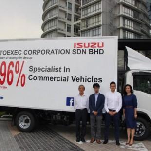 New Isuzu Dealer In KL Delivers First Truck