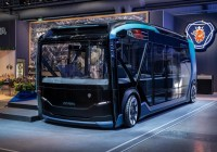 New Public Transport Self-Driving Bus From Scania
