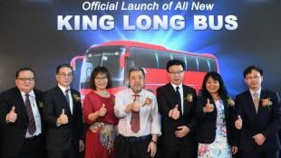 King Long XMQ6120AS bus chassis by China Xiamen Arrives