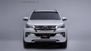 Get you Toyota Fortuner 'tricked out' by FIAR DESIGN THAILAND