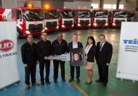 TNB Adds 6 More UD Croner Trucks to Its Fleet