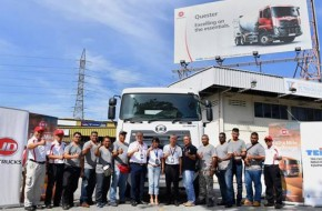 First ever drivers' competition for a Japanese truck brand in Malaysia