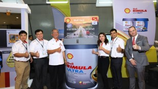 Shell shows its end to end solution for the logistic industry