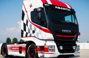 IVECO supports the legendary Team Abarth Scorpion