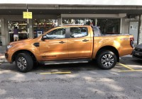 Pickup trucks getting to big for parking spots