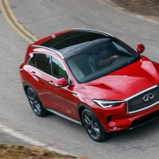 Infinti QX50 shows more Mercedes technology over Nissan