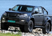 Isuzu releases an Artic D-Max in Europe