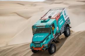 Team Petronas De Rooy Iveco Closes Dakar Rally 2019 With Podium Finish