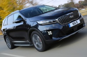 Here is the all new Kia Sorento