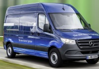 Mercedes-Benz introduces electric delivery vans