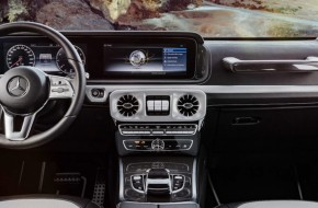 This is the cabin of the NEW G-Class SUV