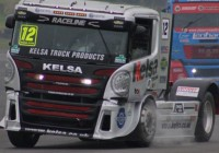 Adams Wins The British Truck Racing Championship (Division 2)