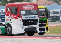 Not the only Hungarian driver on the FIA European Truck Racing Championship