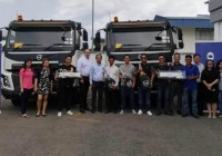 Volvo Trucks Malaysia Delivers 15 FMX 440 Prime Movers to Kotamas Oil