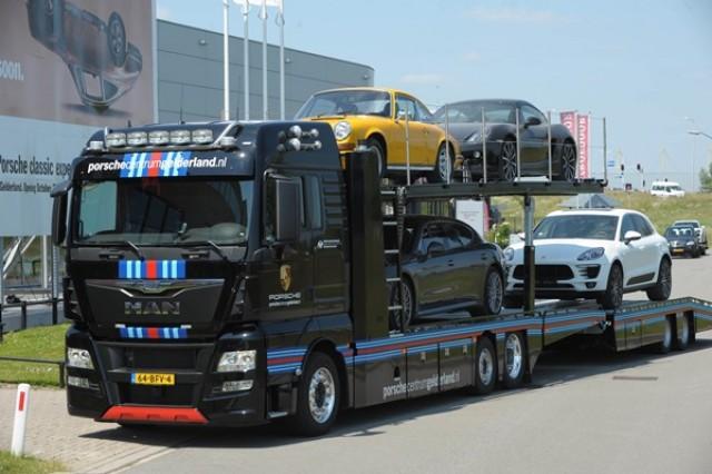 MAN TGX Special Car Transporter
