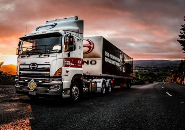 HINO trucks