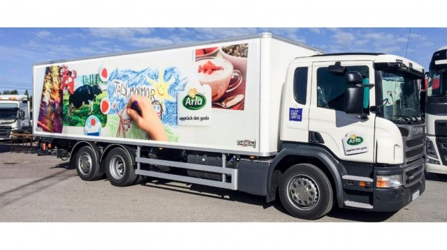 Scania & Arla moving away from diesel