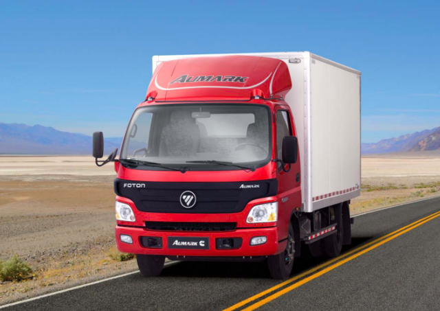 foton trucks 4