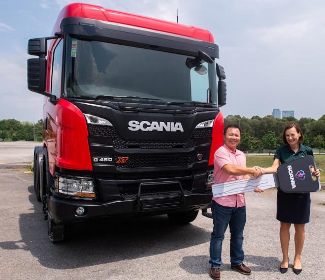 Scania XT Truck