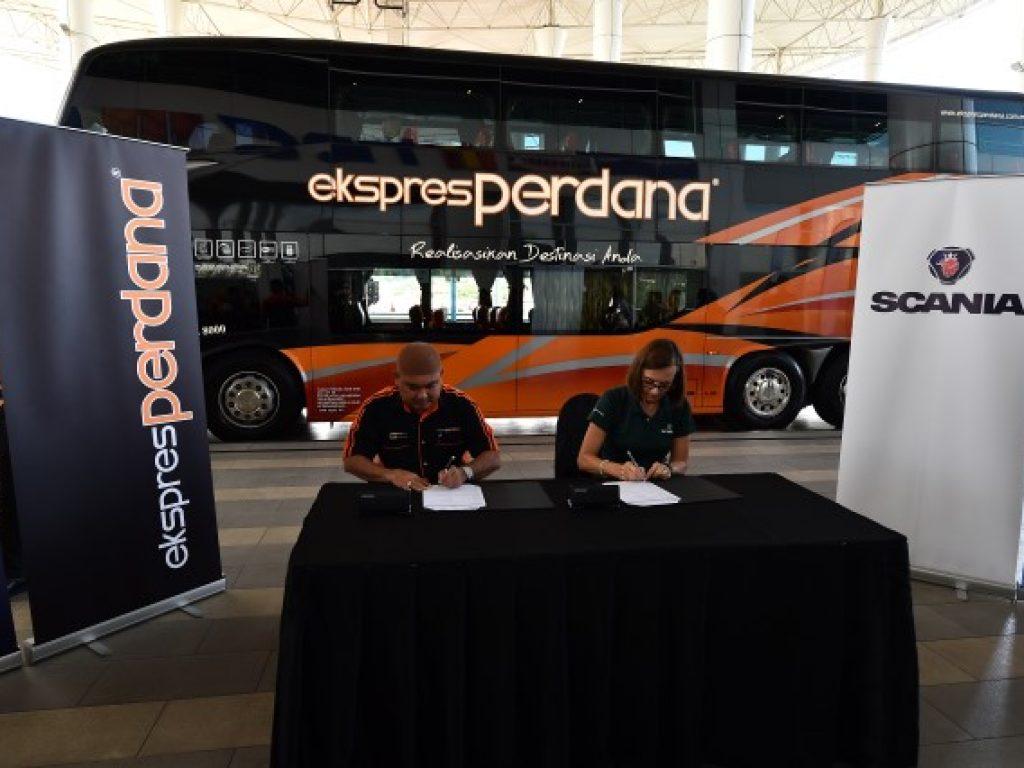 Scania and Perdana Expares