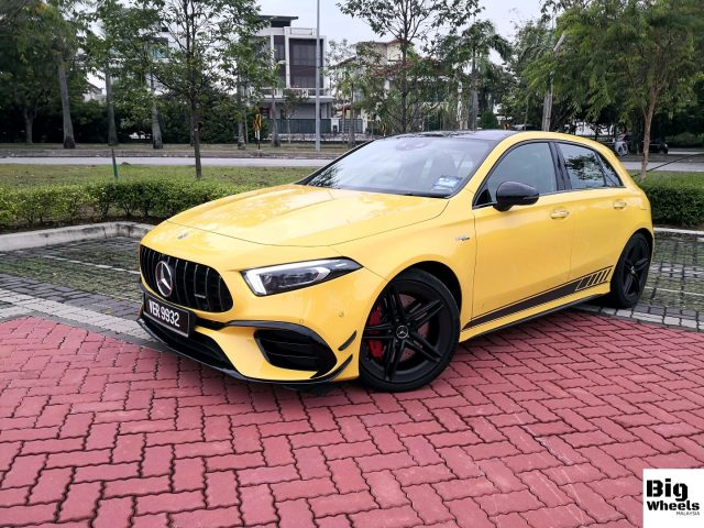 mercedes-amg a45s review malaysia