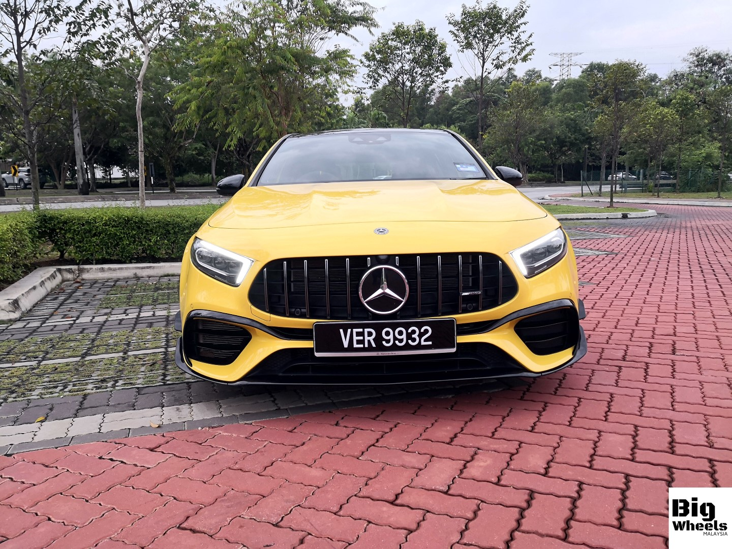 mercedes-amg a45s review front