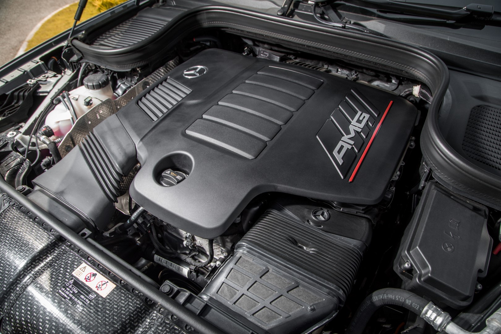 mercedes-amg gle 53 coupe engine