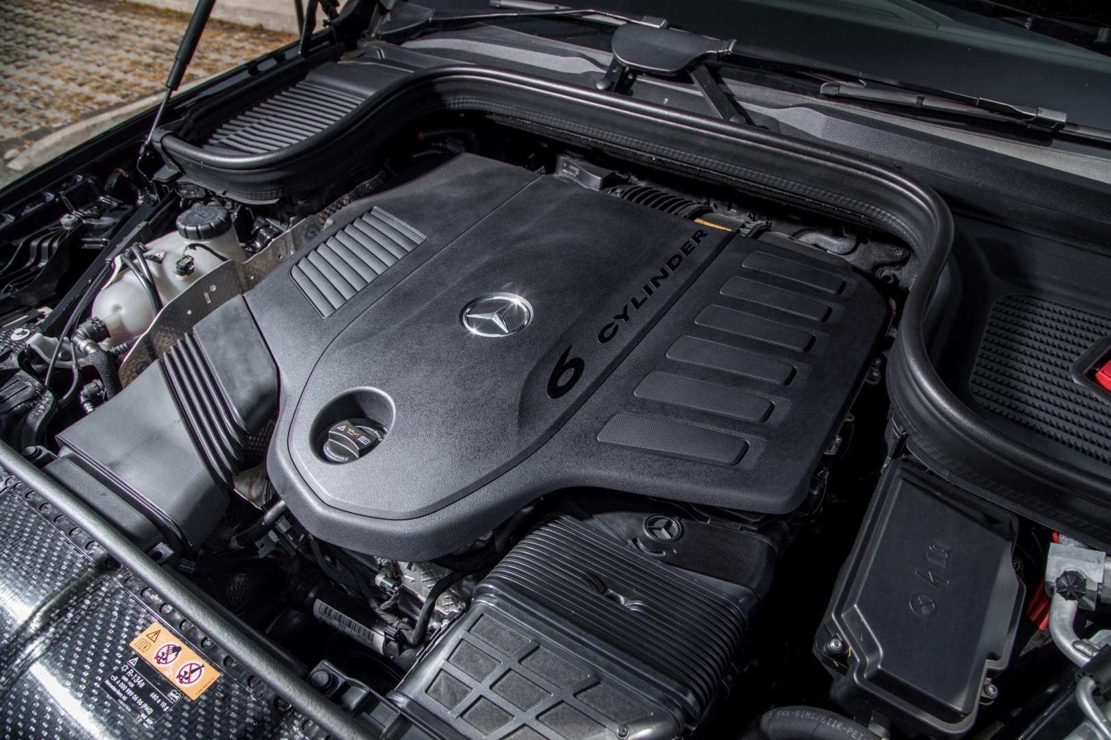 mercedes-benz gle 450 engine