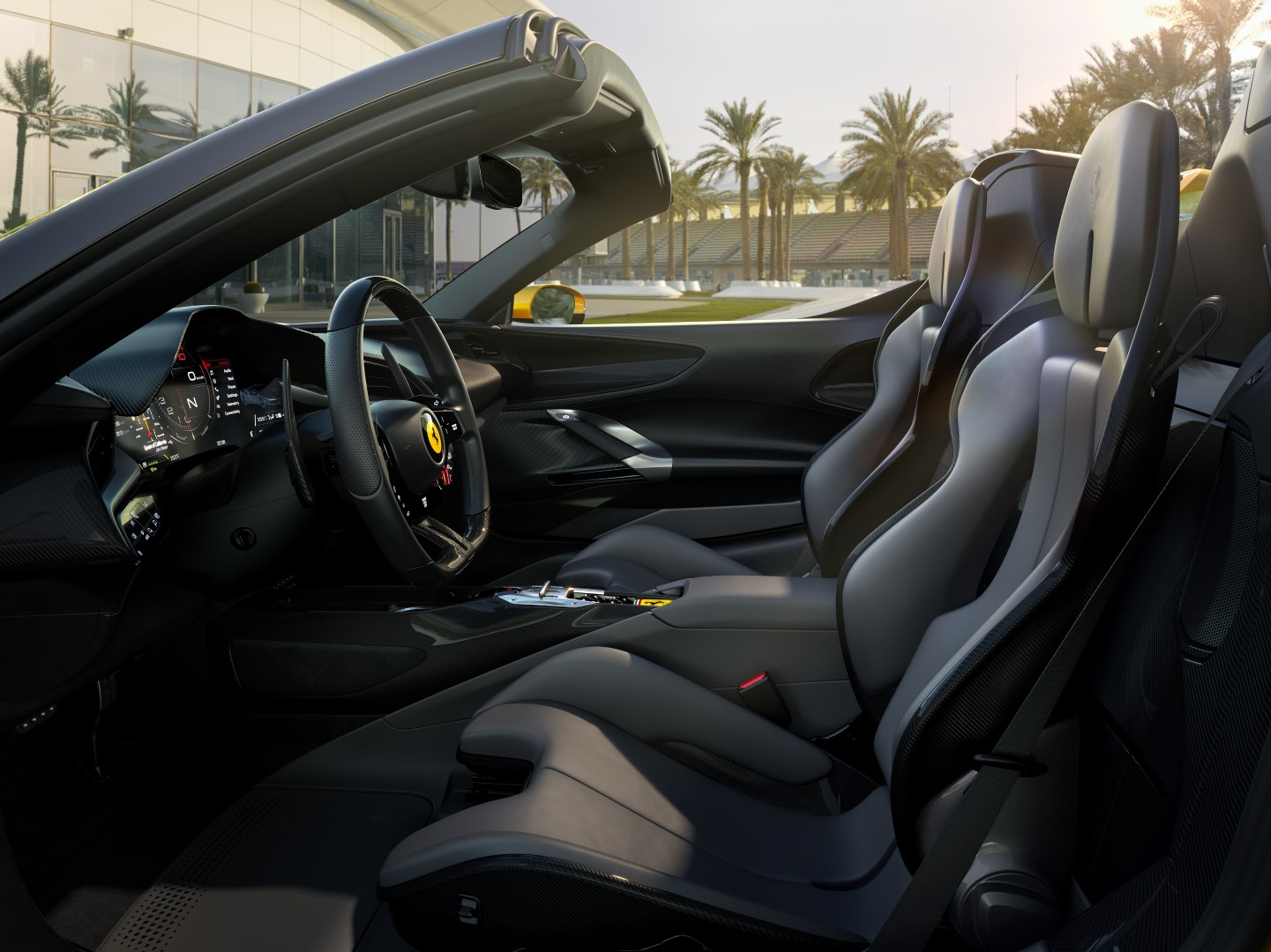 2020 ferrari sf90 spider interior