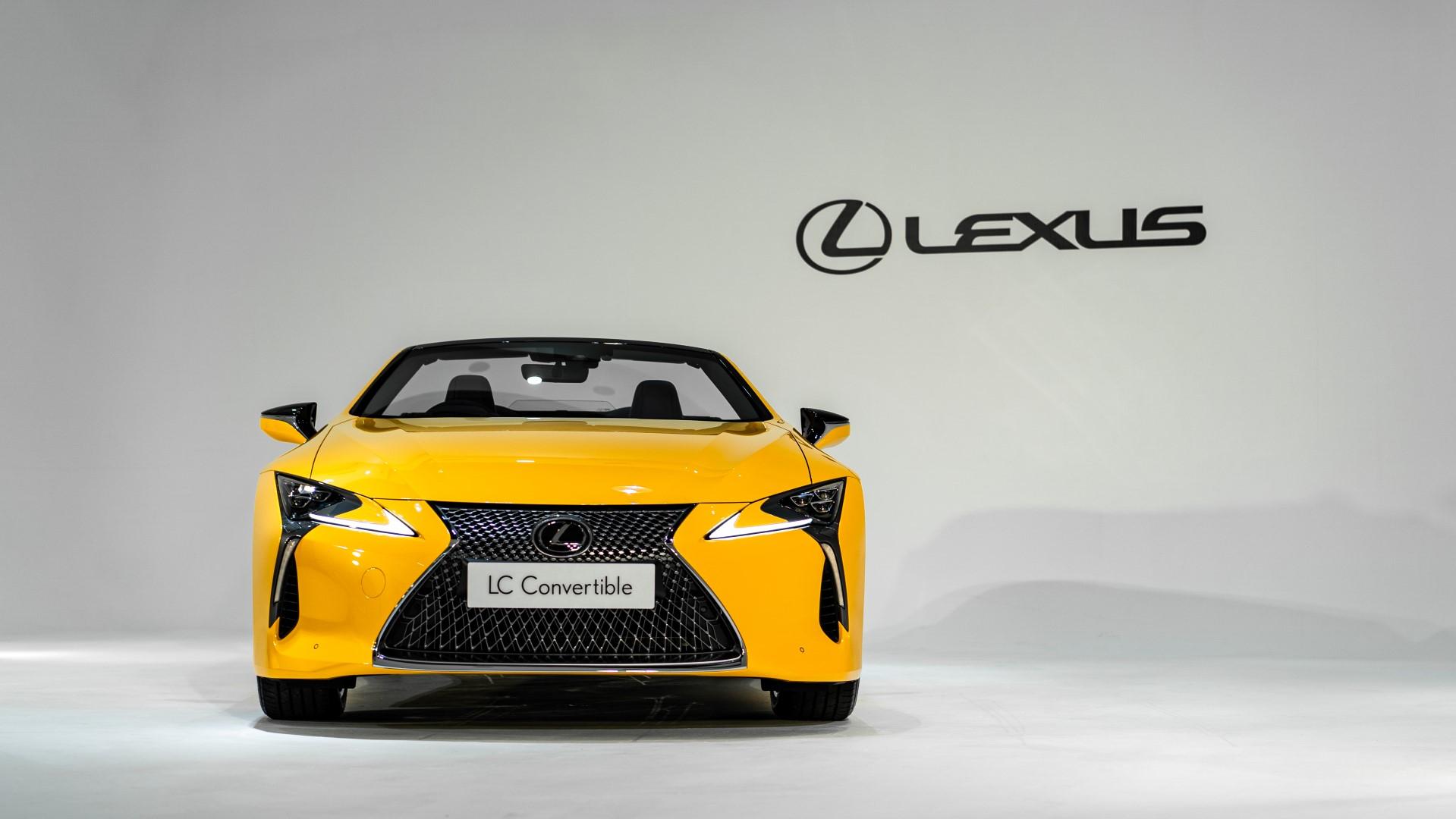 2020 Lexus LC 500 Convertible front