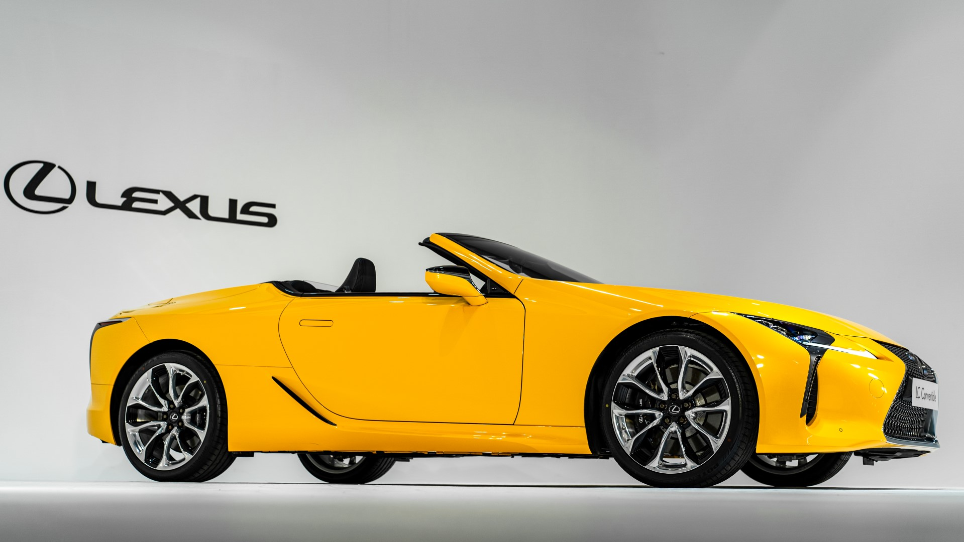 2020 Lexus LC 500 Convertible side profile