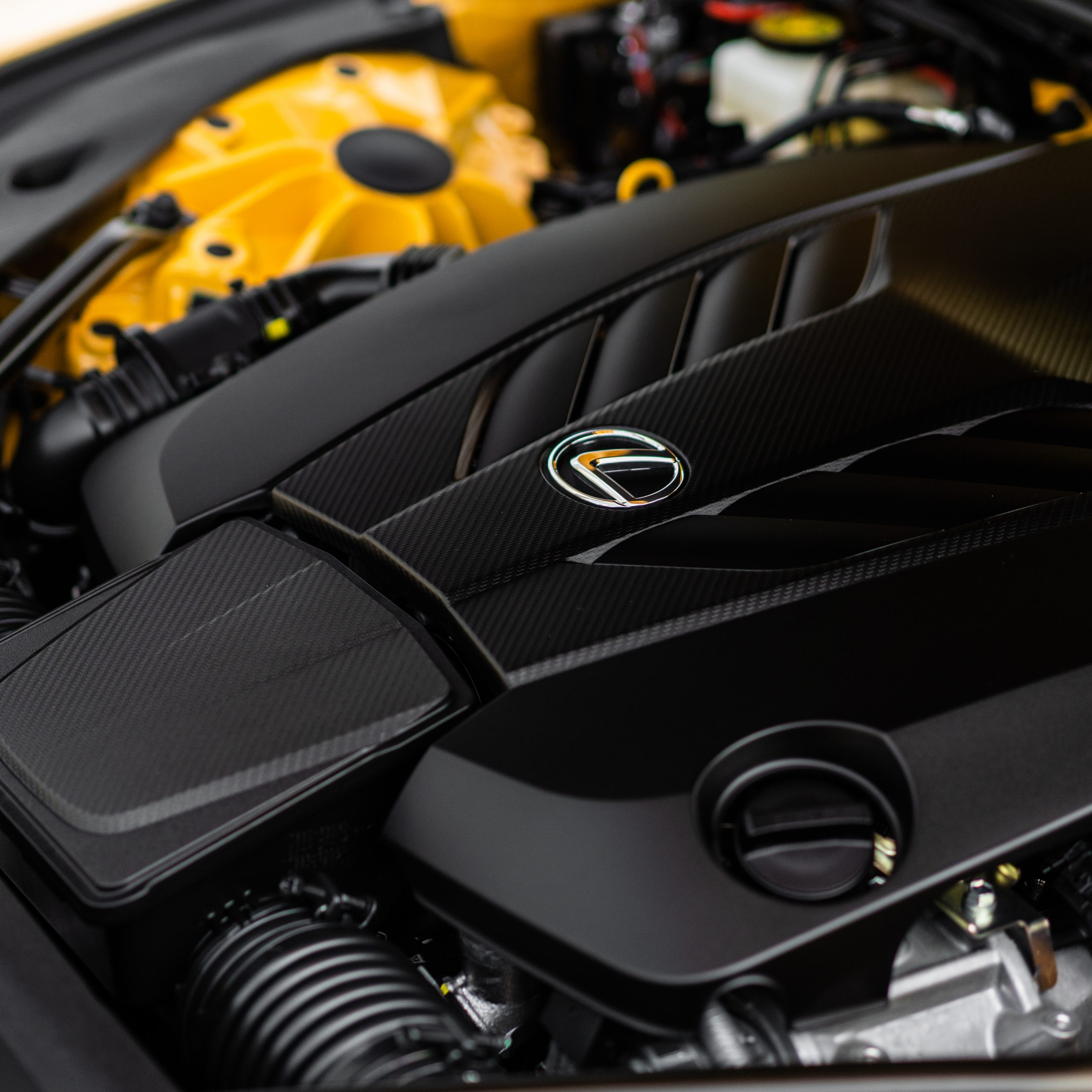 2020 Lexus LC 500 Convertible engine