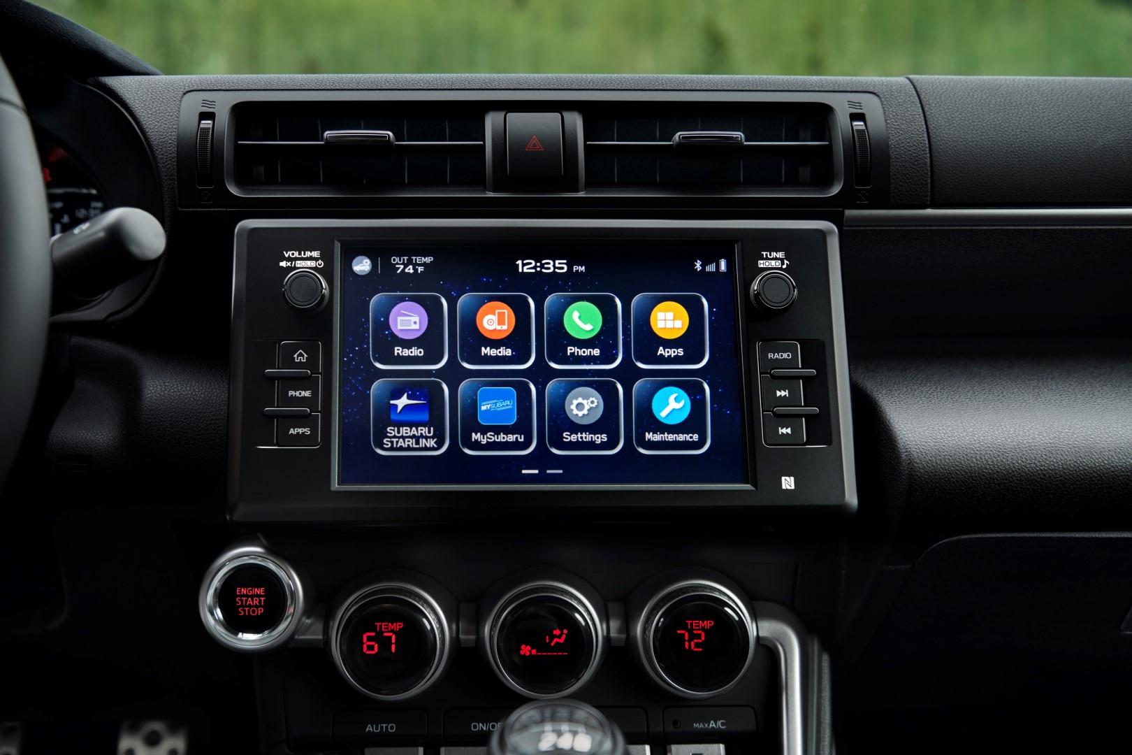 2020 Subaru BRZ infotainment
