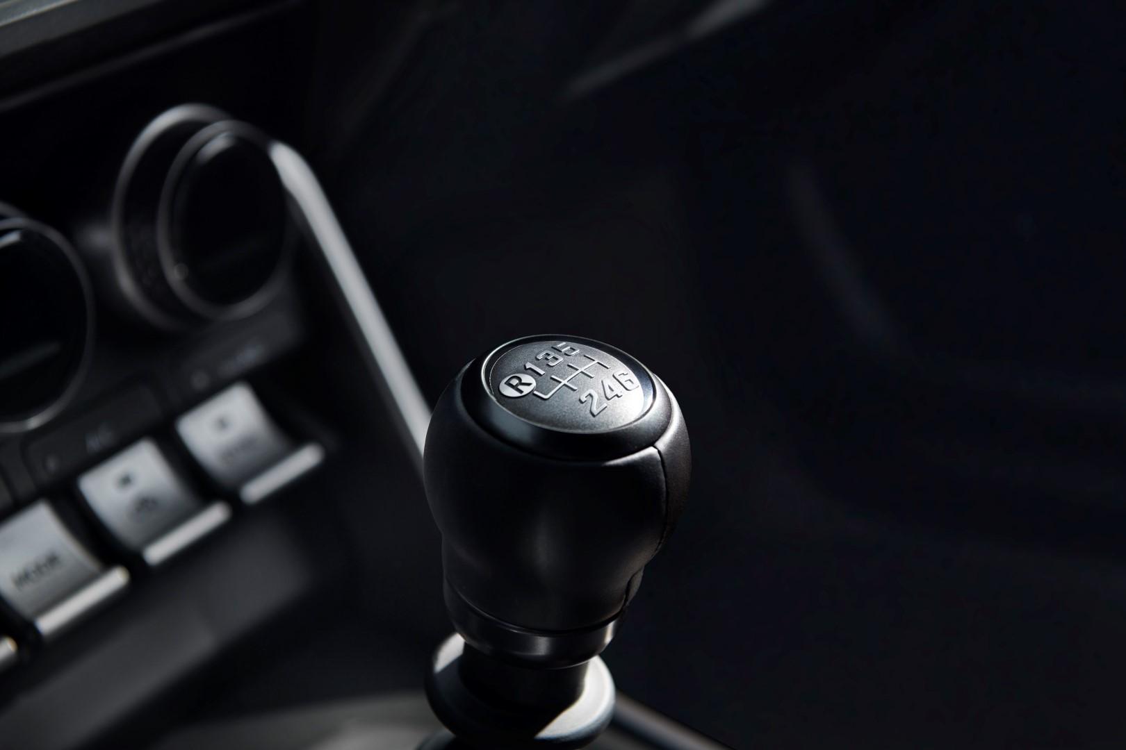 2020 Subaru BRZ gear