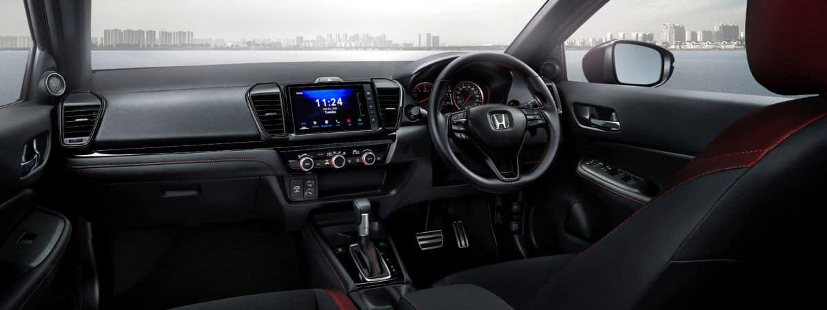 2021 honda city hatchback interior