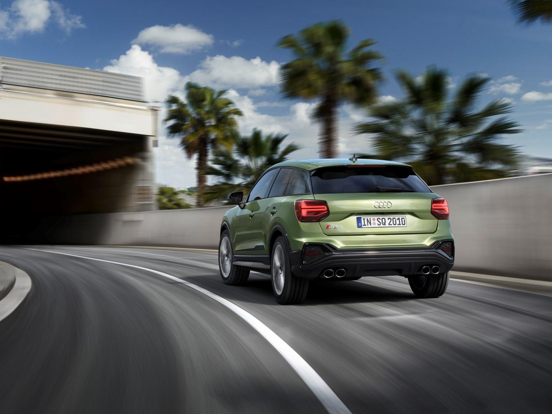 2020 Audi SQ2 rear