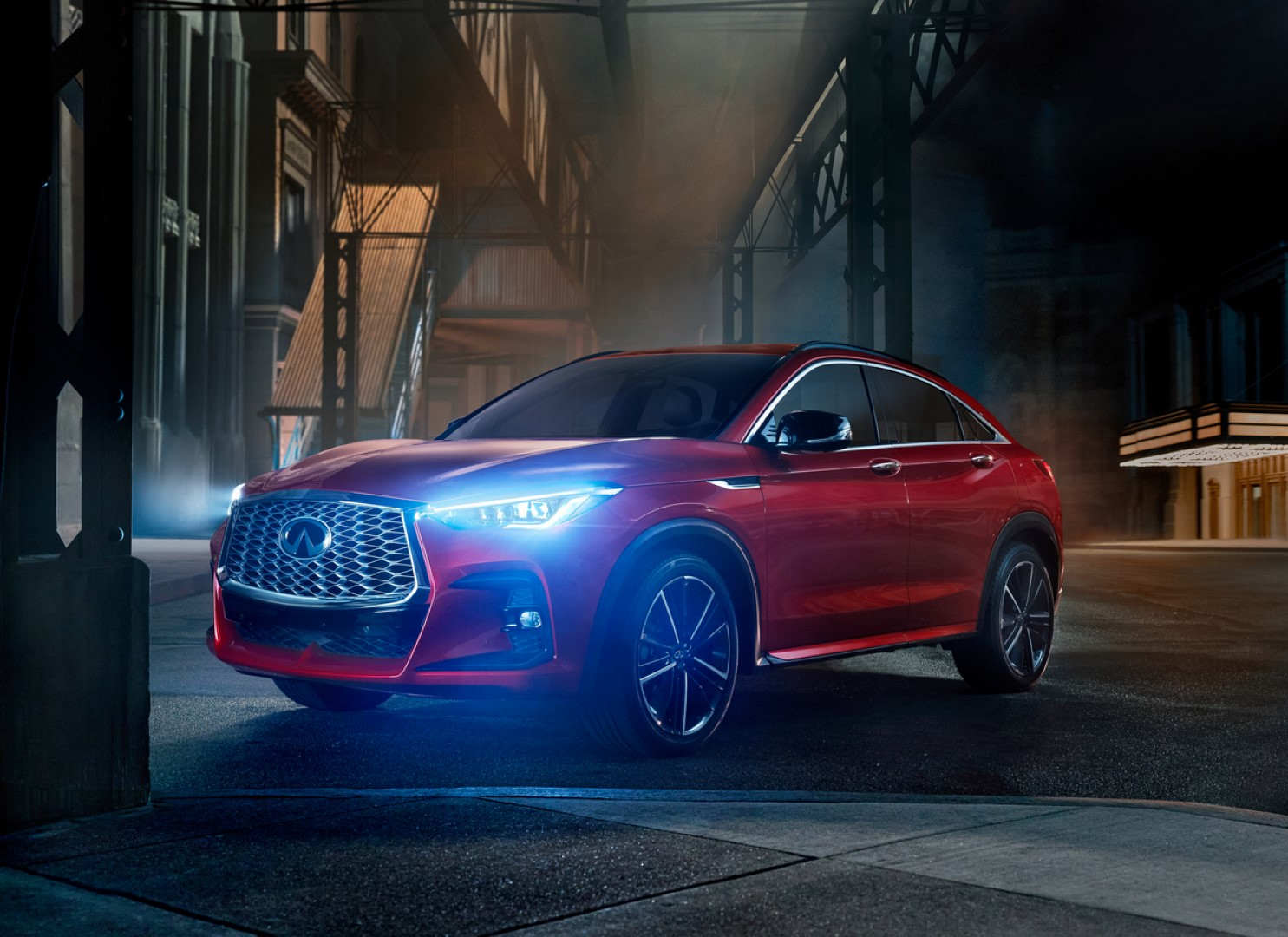 2020 infiniti QX55 night