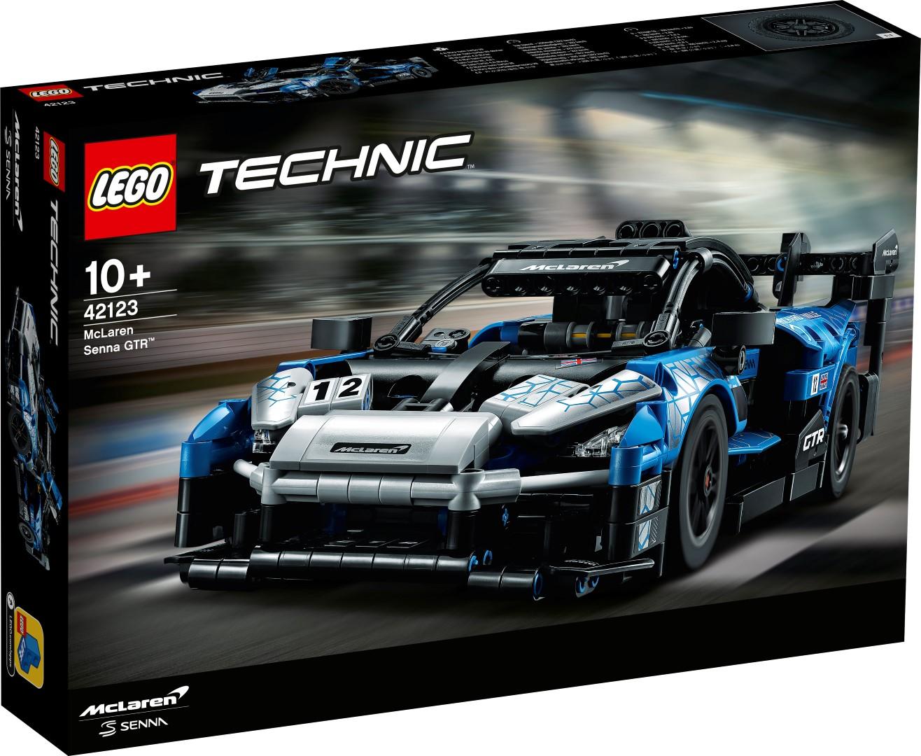 Lego McLaren Senna box