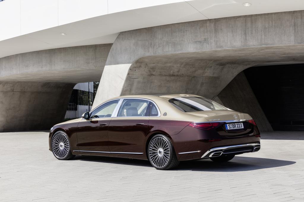 Mercedes-Maybach S-Class Exterior