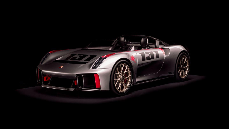 Porsche Unseen Vision Spyder
