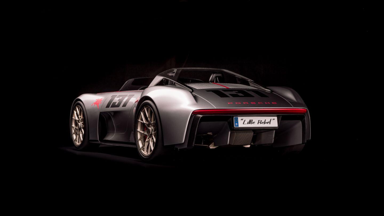 Porsche Unseen Porsche Vision Spyder rear