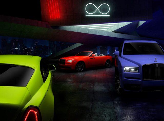 Rolls-Royce Black Badge Neon Nights