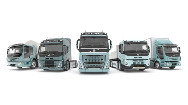 Volvo Trucks Electric Range